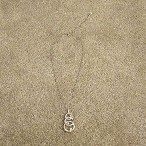 Swarovski Jewelry - Swarovski crystal 3 circle pendent necklace